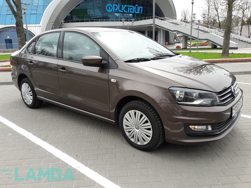 Volkswagen Polo Sedan 2015 г.в.